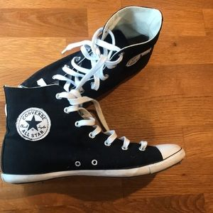 Slim sole Converse All Star high tops